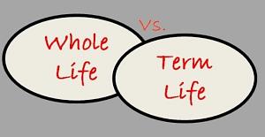 term vs. whole life