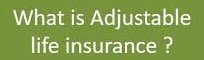 what-is-adjustable-life-insurance