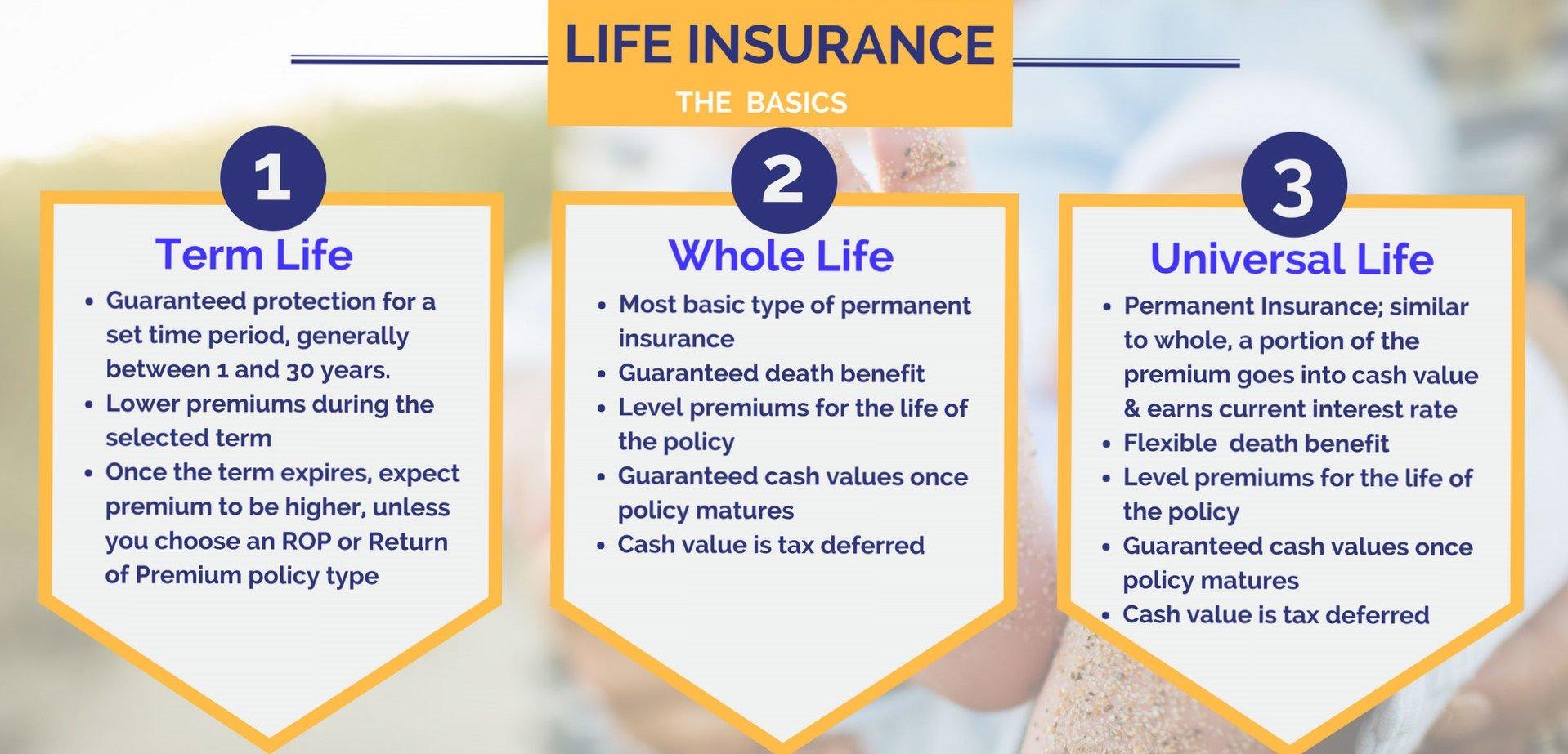 Differences In Life Insurance - Keikaiookami